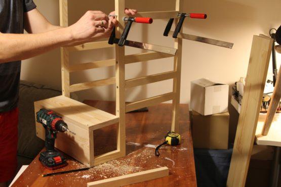 Składanie prototypu kitchen helper'a